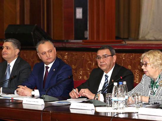 Путин поведал оперспективах стратегического партнерства сМолдавией
