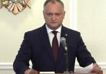 Законопроекты, инициированные Игорем Додоном, ушли в парламент