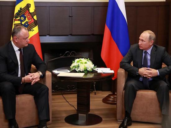 Игорь Додон: «Отношения с Россией  будут только укрепляться!»